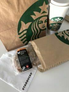 Starbucks Glutenvrij broodje chicken pesto