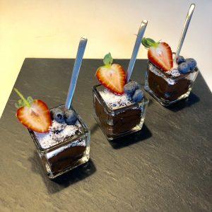 gezonde chocolademousse met kokos snel klaar