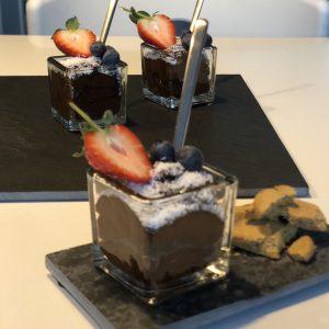 makkelijke gezonde chocolademousse