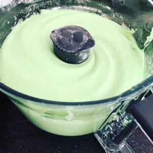 Groene wafels glutenvrij beslag