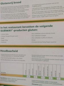 Subwayglutenvrij